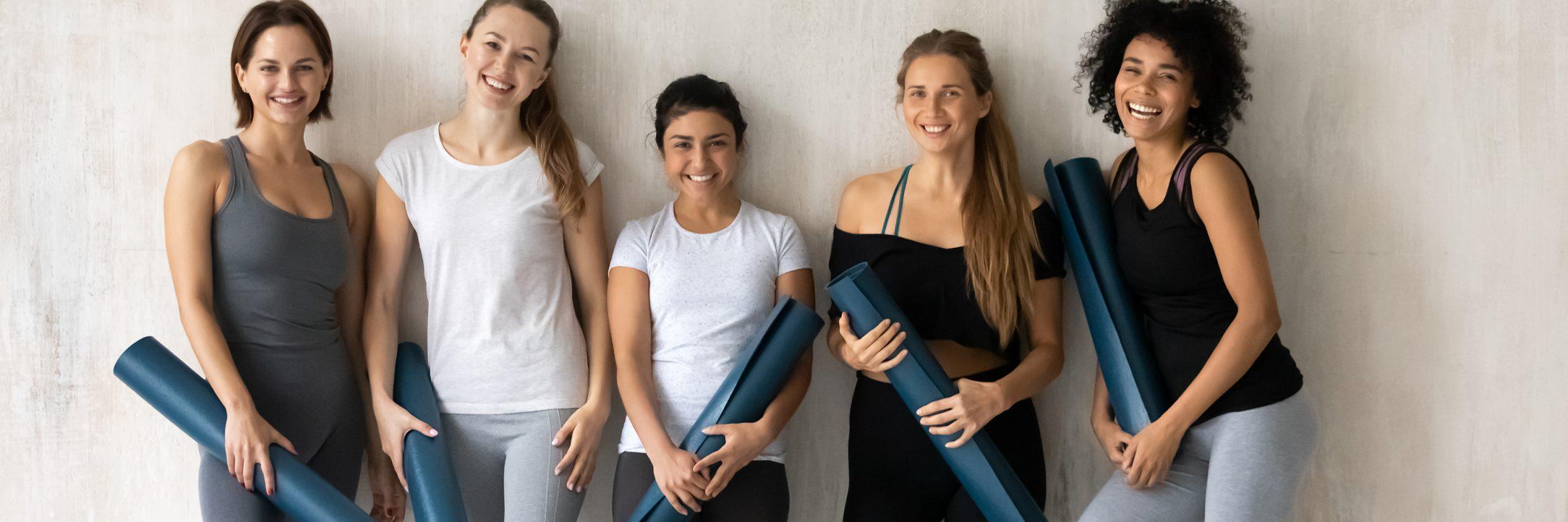 Frauen Fitnessstudio